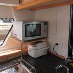 Microwave installation Lagoon 42 2017