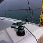 Parasailor Deck hardware Lagoon 42 2017