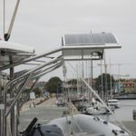 Solar panel arch Lagoon 42 2017