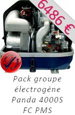 Pack groupe électrogène Fischer Panda Uchimata