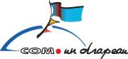 com-1-drapeau-logo bleu